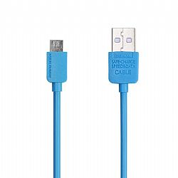 Charging Cable Remax Micro USB Blue 1m LIGHT