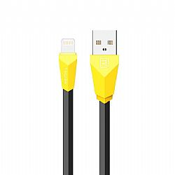 Charging Cable Remax i6 1m Alien Black & Yellow