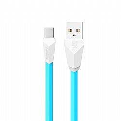 Charging Cable Remax Micro 1m Alien Blue & White