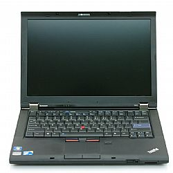 LENOVO used Notebook ThinkPad T410, i5-520M, 4GB, 250GB HDD, Cam, 14.1