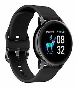 HIFUTURE smartwatch HiMATE, 1.4, IP68, heart rate monitor, μαύρο