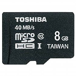 Κάρτα Μνήμης TOS MICROSD 8GB CLASS 10 HS WITH ADAPTER NEW
