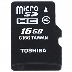 Κάρτα Μνήμης TOS MICROSD 16GB HS CLASS 4 WITH ADAPTER NEW