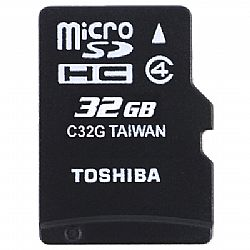 Κάρτα Μνήμης TOS MICROSD 32GB HS CLASS 4 WITH ADAPTER NEW